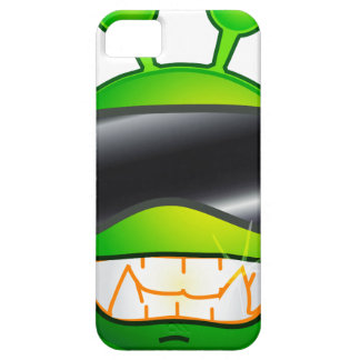 Cool Alien with glasses Case For The iPhone 5