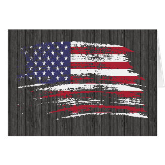 Cool American flag design Greeting Cards