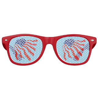 Cool American Flag Patriotic Retro Sunglasses