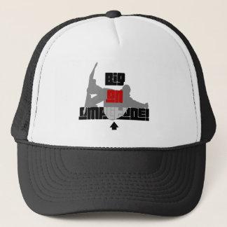 Cool amplitude snowboarding trucker hat