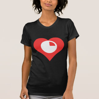 Cool Analysing Pie Charts Pictograph Tee Shirt