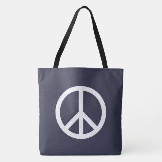Cool and Classic Peace Tote Bag