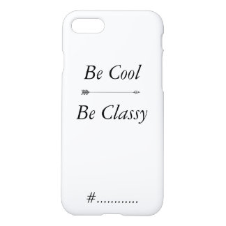 cool and classy hull iPhone 8/7 case