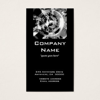 Cool and Contemporary Business Card