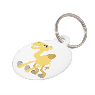 Cool and Cute Cartoon Camel Dog Tag Pet Tags