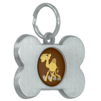 Cool and Cute Cartoon Camel Pet Tag