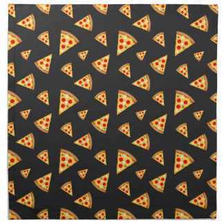 Cool and fun pizza slices pattern napkin