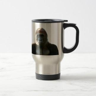 Cool and Funny Gorilla Monkey Animal Travel Mug