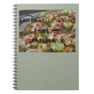 Cool and Funny Seafood Diet Notebook