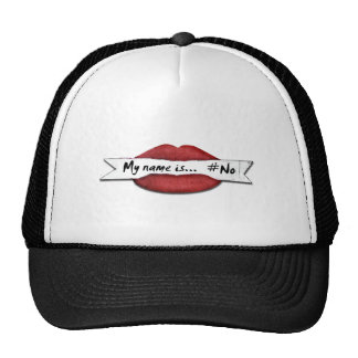 Cool and Sexy with Red Lips Cap