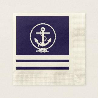 Cool and Stylish Nautical Theme Disposable Napkins