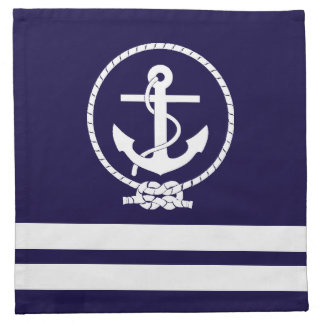 Cool and Stylish Nautical Theme Napkins