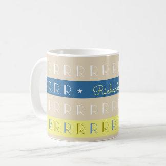 cool and stylish typography mug with name