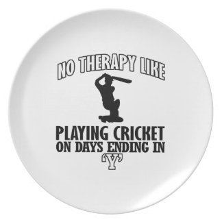 cool and trending CRICKET DESIGNS Plate