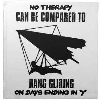 cool and trending Hang gliding DESIGNS Napkin