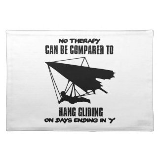 cool and trending Hang gliding DESIGNS Placemat