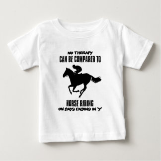 cool and trending Horse riding designs Baby T-Shirt