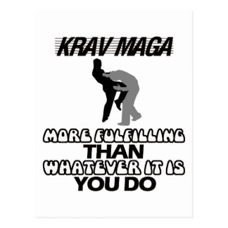 cool and trending Krav maga designs Postcard
