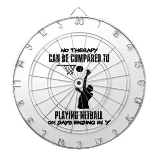 cool and trending netball DESIGNS Dartboard