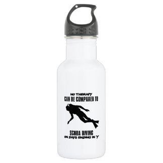 cool and trending scuba diving DESIGNS 532 Ml Water Bottle