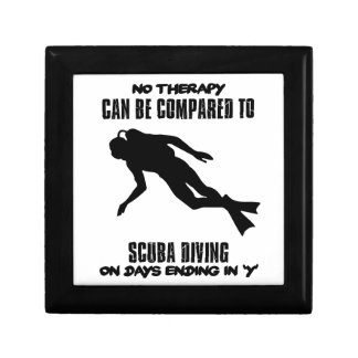 cool and trending scuba diving DESIGNS Gift Box