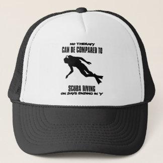 cool and trending scuba diving DESIGNS Trucker Hat