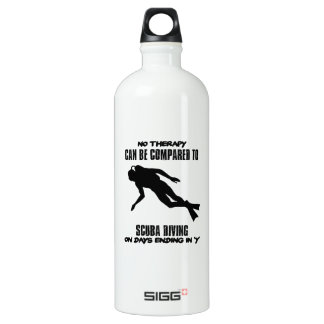 cool and trending scuba diving DESIGNS Water Bottle