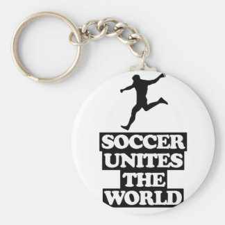 cool and trending soccer DESIGNS Basic Round Button Key Ring