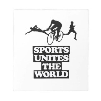 cool and trending Sports DESIGNS Notepad