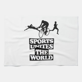 cool and trending Sports DESIGNS Tea Towel