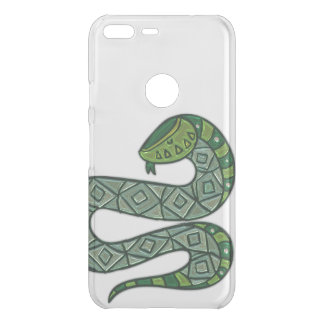 Cool and Trendy Green Fashion Snake Serpent Uncommon Google Pixel XL Case