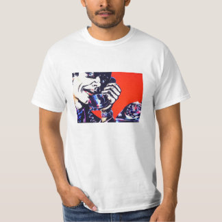 Cool Angry 1970's Retro Phone Man T-Shirt
