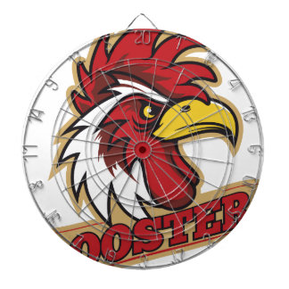 Cool Angry Rooster T-Shirt Dartboards
