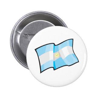 Cool Argentina Flag 6 Cm Round Badge