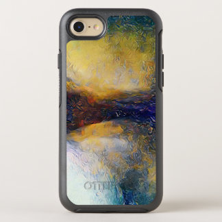 Cool Artistic Colliding Fantasy Planets OtterBox Symmetry iPhone 8/7 Case