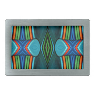 Cool Artistic Funky Symmetrical Pattern Belt Buckle