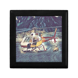Cool Artistic Helicopter Gift Box