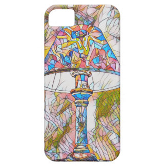 Cool Artistic Stained Glass Lamp Shade Case For The iPhone 5