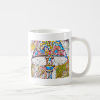 Cool Artistic Stained Glass Lamp Shade Coffee Mug