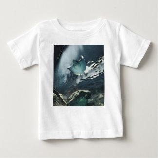 Cool Artistic Underside of Stingray Baby T-Shirt