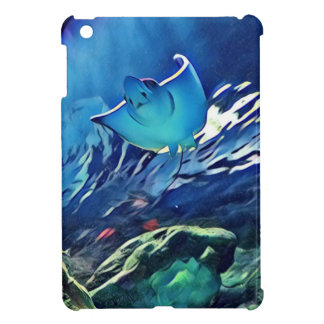 Cool Artistic Underside of Stingray iPad Mini Case