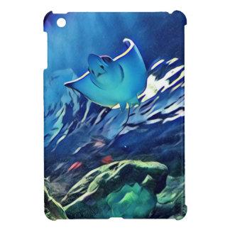 Cool Artistic Underside of Stingray iPad Mini Cover