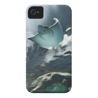 Cool Artistic Underside of Stingray iPhone 4 Cover