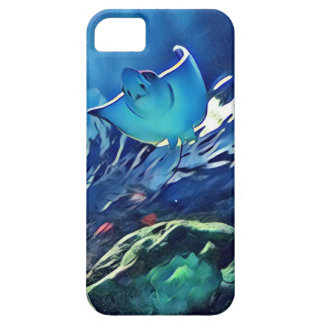 Cool Artistic Underside of Stingray iPhone 5 Case