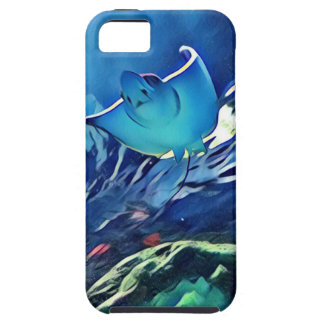 Cool Artistic Underside of Stingray iPhone 5 Cover