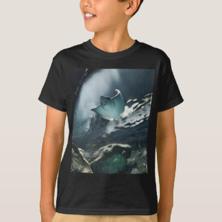 Cool Artistic Underside of Stingray T-Shirt