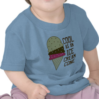 Cool as an Ice Cream Cone Tshirt