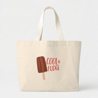 Cool As Fudge Large Tote Bag
