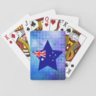 Cool Australia Flag Star Playing Cards