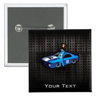 Cool Auto Racing Pin